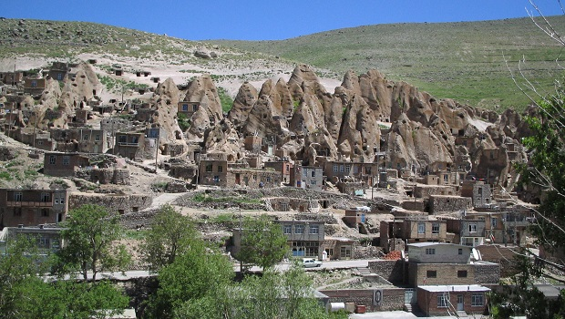 Les maisons troglodytes de Kandovan