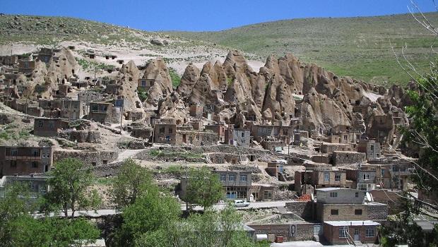 maisons troglodytes de Kandovan