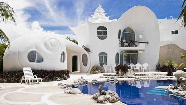 La maison coquille de conque