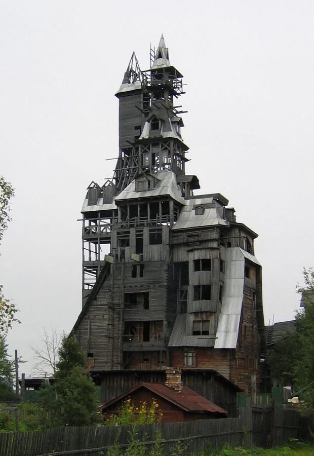 maison en bois de Nikolaï Soutiaguine