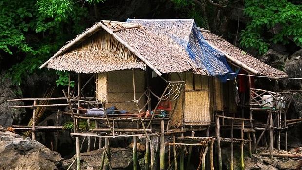 maisons traditionnelles aux Philippines