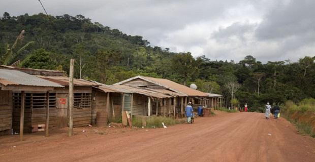 maison rurale au gabon