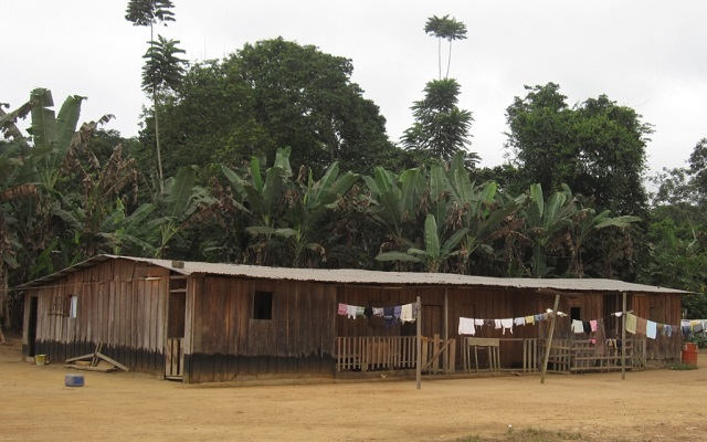 les maisons au gabon