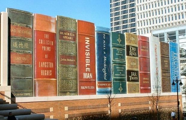 grande bibliothèque batiment