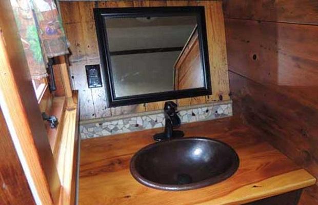 cabane salle de bain