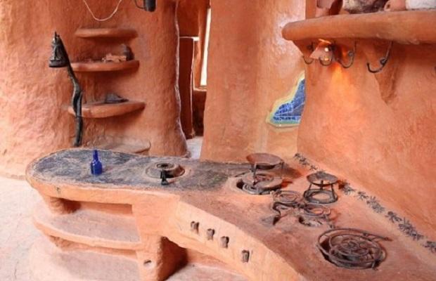 intérieur maison terre cuite