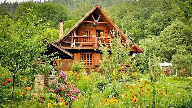 maison chalet roumanie