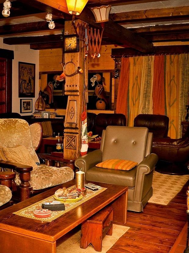 intérieur maison roumaine