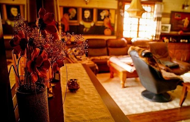 intérieur maison roumanie