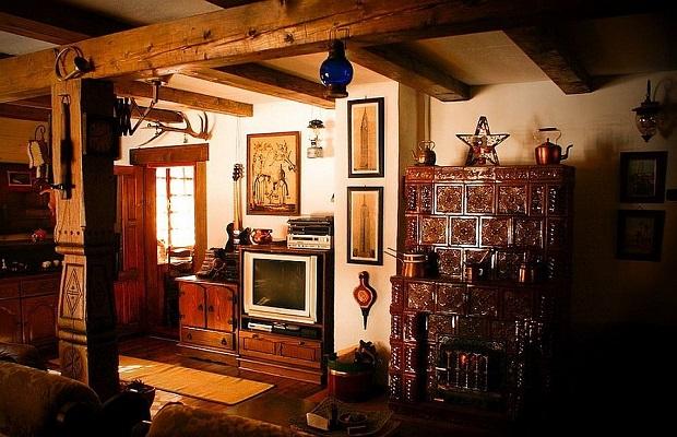 maison roumanie intérieur
