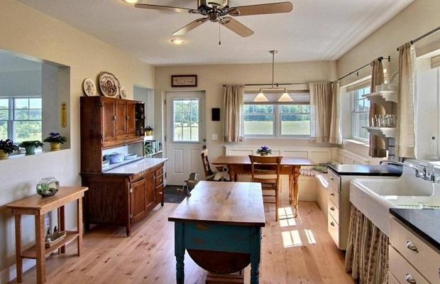 cuisine de ferme moderne 25 id es cr atives. Black Bedroom Furniture Sets. Home Design Ideas