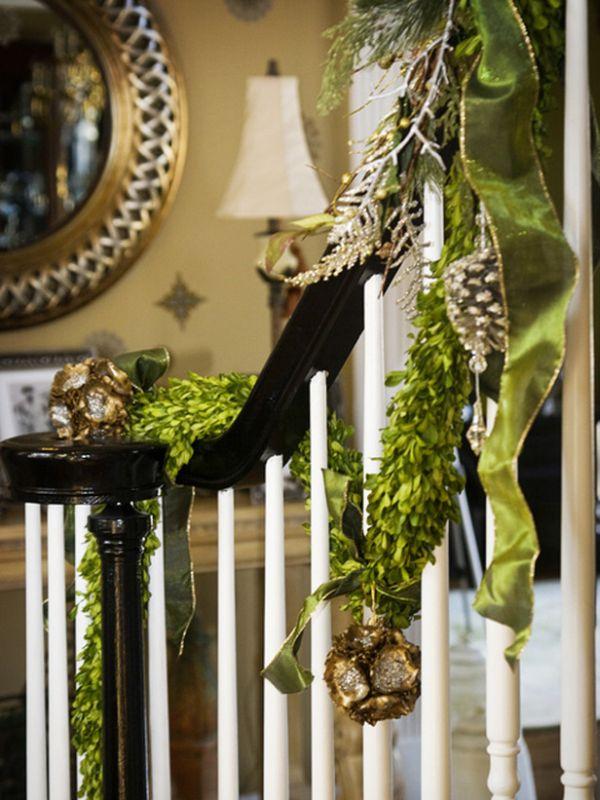 décorer escalier noël