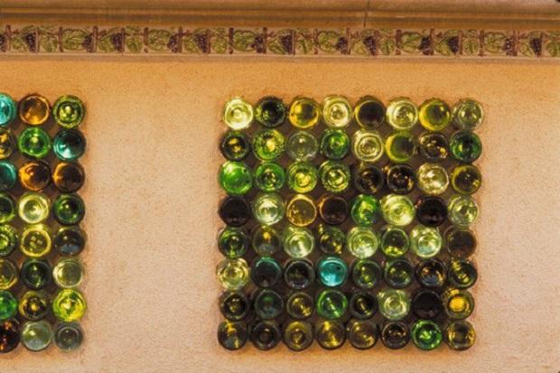 recycler une bouteille de vin