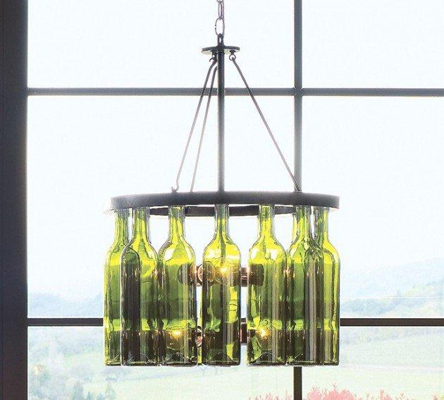 20 Idées Pour Aménager Un Petit Balcon: 20 Idées Pour Recycler Les Bouteilles De Vin