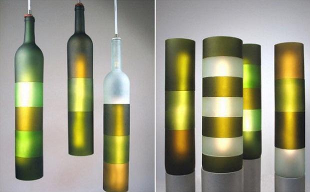 bouteilles de vin idées