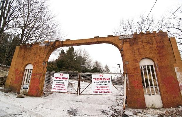 parc attractions abandonné