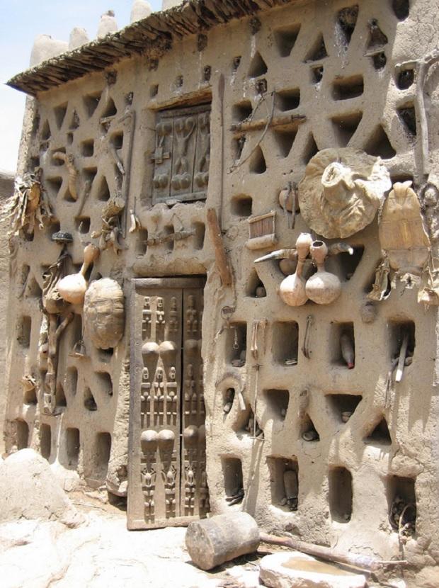 architecture dogon