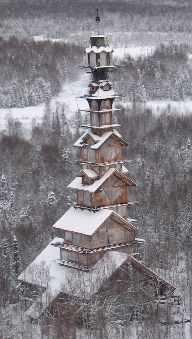 L'étrange maison Dr. Seuss en Alaska