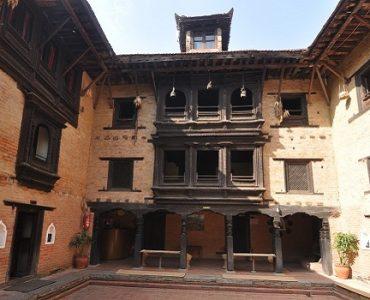 maison newari népal