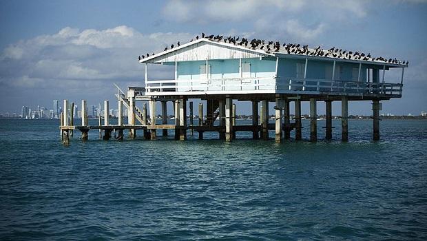 Les maisons sur pilotis de Floride