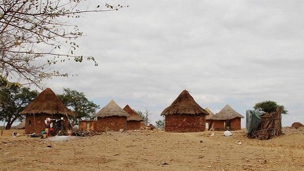 Les maisons au Zimbabwe