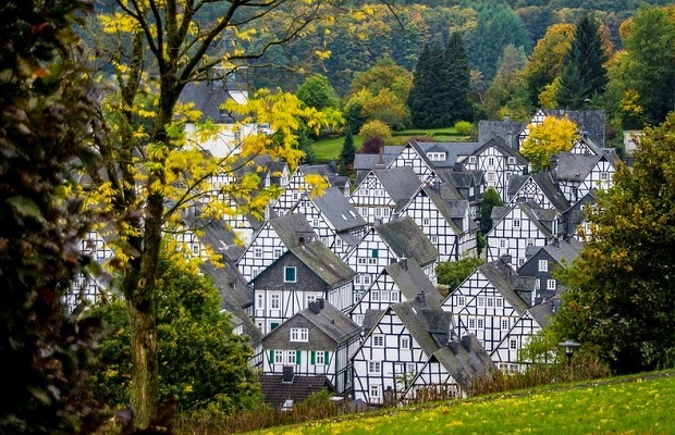 maisons colombage allemagne