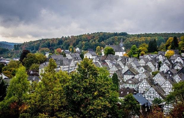 maisons à colombage de Freudenberg