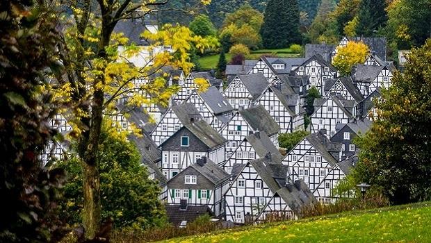 les maisons à colombage de freudenberg