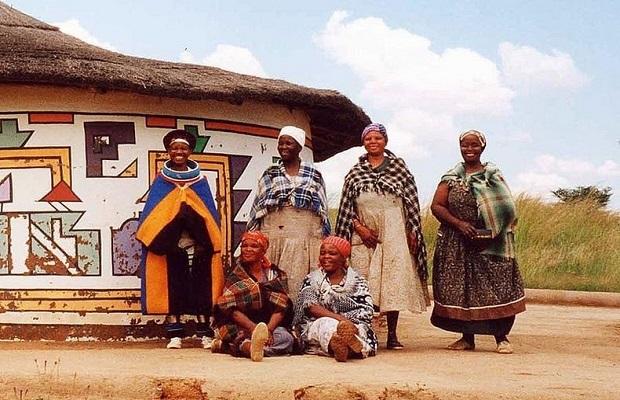 Les maisons Ndébélé