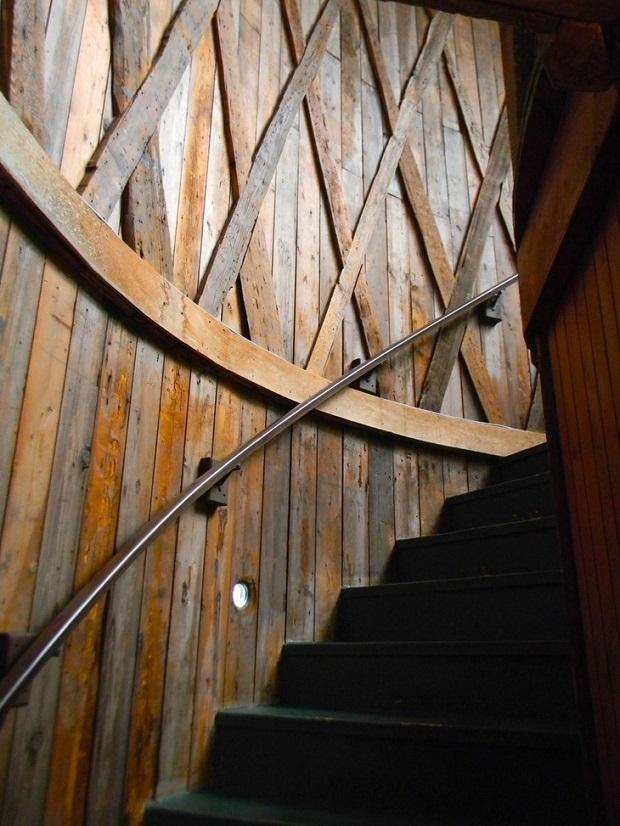 escalier tiny house