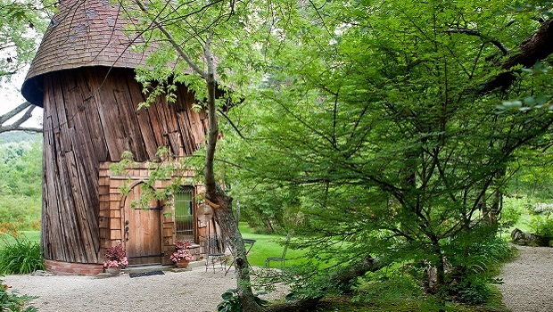 Une romantique petite maison