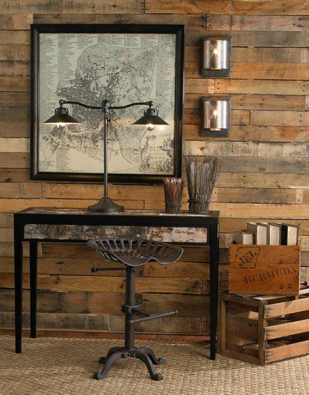 35 fa ons cr atives de recycler des palettes en bois. Black Bedroom Furniture Sets. Home Design Ideas