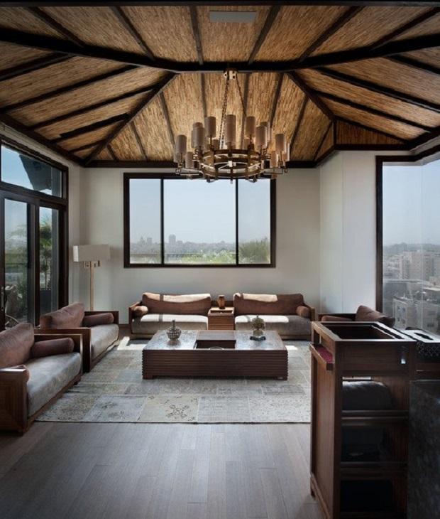 12 salles de s jour d 39 inspiration asiatique qui respirent l 39 l gance. Black Bedroom Furniture Sets. Home Design Ideas