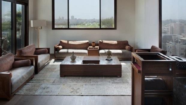 salles de séjour d'inspiration asiatique