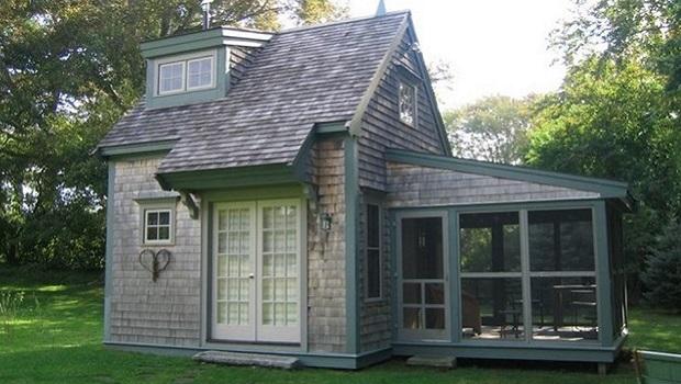 maisons minuscules
