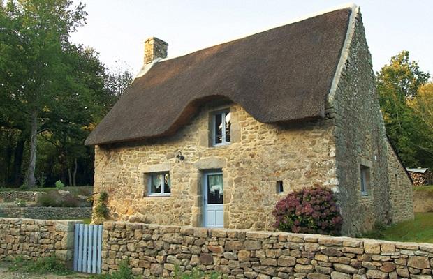 Les maisons typiques bretonnes - Les materiaux pour construire une maison ...