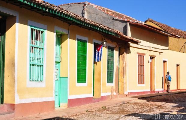 les maisons colorées de cuba