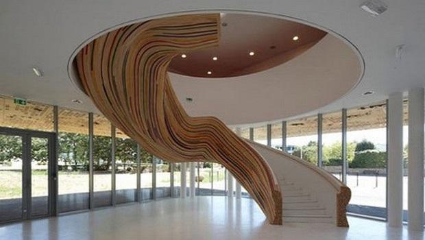 50 exemples d'escalier hallucinant et créatif