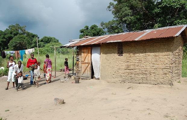 maisons au congo
