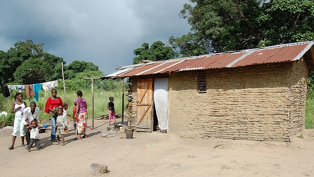 les maisons en république du congo