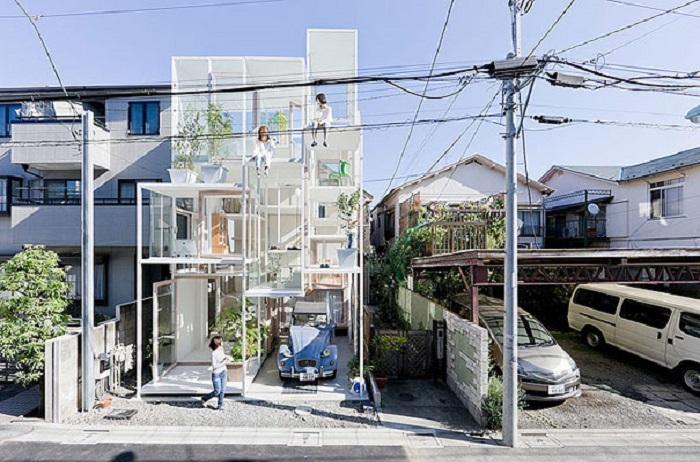 maison transparente