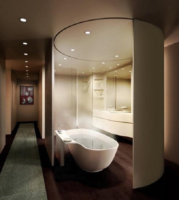 salle de bain relaxante