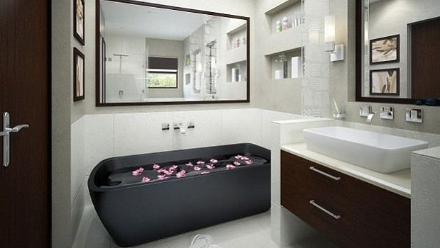 idées salle de bain relaxante