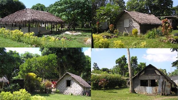 les maisons du vanuatu
