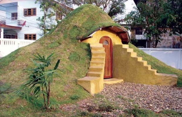 Construire une maison sous terre ventana blog for Construire une maison kerterre