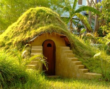 maison en sac de terre