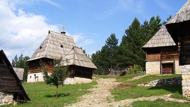 les maisons en serbie