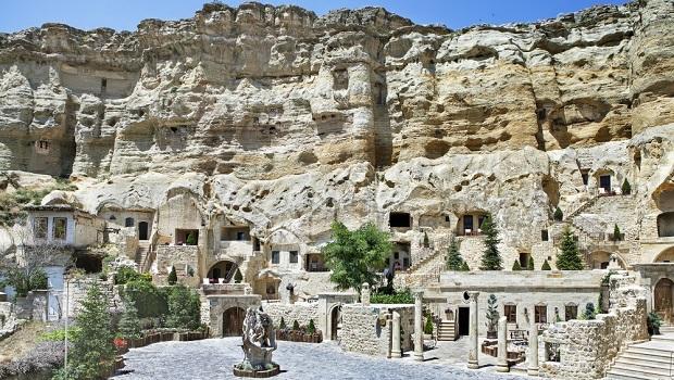 Yunak Evleri : un hôtel troglodyte en Turquie