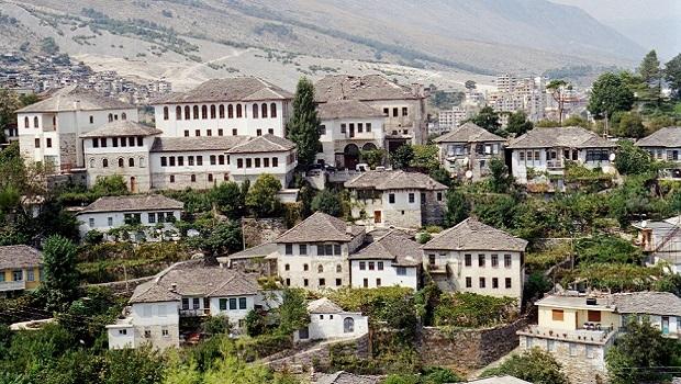 l'architecture en albanie