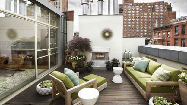 terrasses de toit